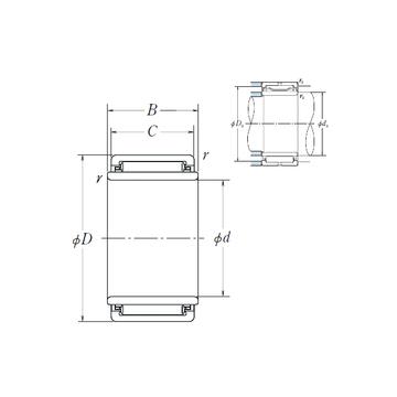 Buy LM172425 NSK Needle Roller Bearings - Wamei Industrial